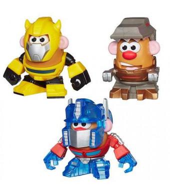 Hasbro Playskool Transformers Mr. Potato Heads Minis Mixable, Mashable Heroes - Bumblebee, Grimlock and Optimus Prime