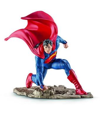 Schleich Superman Kneeling Action Figure