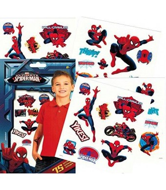 Trends Int. Marvel Spiderman Temporary Tattoos - Pack of 75