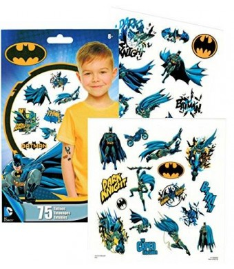 Trends Int. DC Comics BATMAN Temporary Tattoos - Pack of 75
