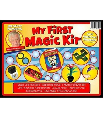 Jim Stott Magic Jim Stott Presents 'My First Magic Kit' The Perfect Magic Kit for Beginners and Kids of All Ages!