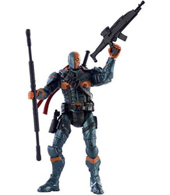"Mattel DC Comics Multiverse Batman Arkham Origins - Deathstroke 4"" Action Figure"