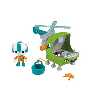 Fisher-Price Octonauts Gup-H and Barnacles Playset