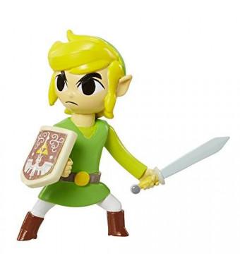 World of Nintendo, The Legend of Zelda: Windwaker, Link Mini Figure, 2.5 Inches