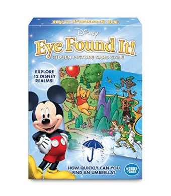 Wonder Forge World of Disney Eye Found It Card Game