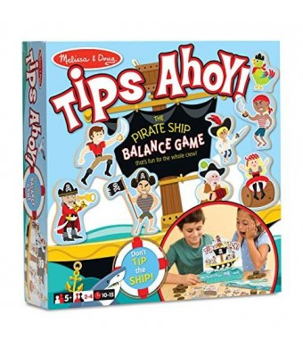 Melissa & Doug Melissa and Doug Tips Ahoy - Pirate Ship Balance Game