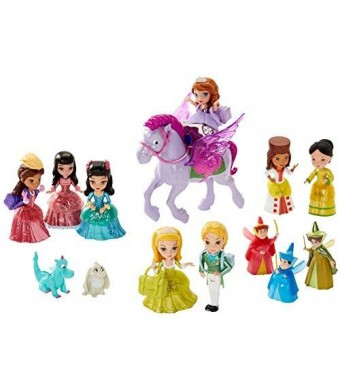 Mattel Disney Sofia The First Royal Prep Figure Collection