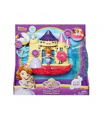 Mattel Disney Sofia the First and the Floating Palace Bath Playset