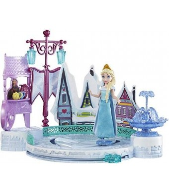 Mattel Disney Frozen Elsa's Ice Skating Rink Playset