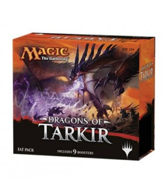 Magic: the Gathering: Dragons of Tarkir Fat Pack (Factory Sealed Includes 9 Booster Packs and More)