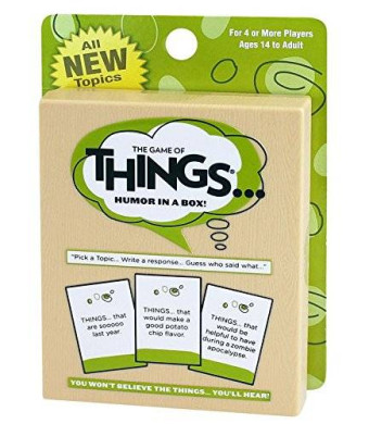 Patch Products Inc. The Game of Things Game Travel/Expansion Pack