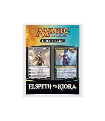 Magic: the Gathering ELSPETH vs. KIORA - MTG Magic the Gathering 2015 Duel Decks Box Set - 120 cards