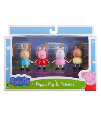 Zoofy International Peppa and Friends Figure Pack