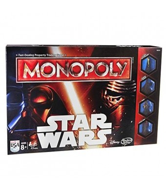 Hasbro Monopoly Game Star Wars