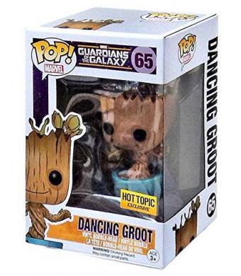 Funko Marvel Guardians of the Galaxy POP! Marvel Dancing Groot Exclusive Vinyl Bobble Head #65 [Blue Pot]