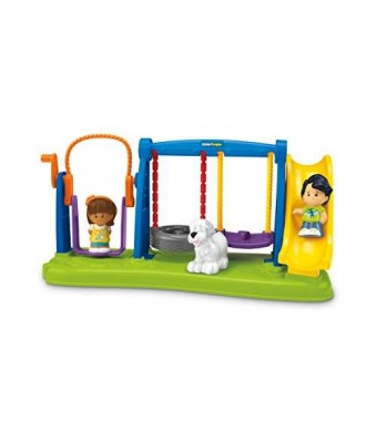 Fisher-Price Little People Jump and Play Swing Set