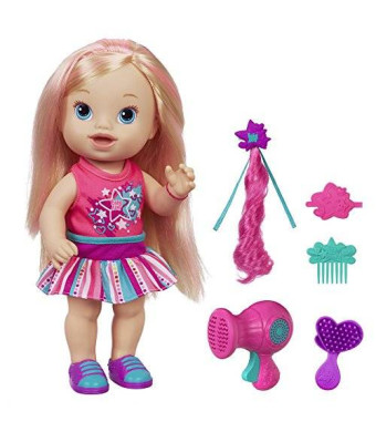 BaAlive Baby Alive Play 'n Style Christina Doll (Blonde)