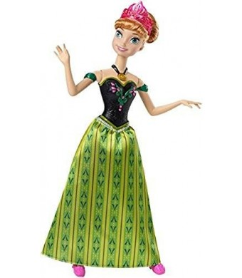 Mattel Disney Frozen Singing Anna Doll