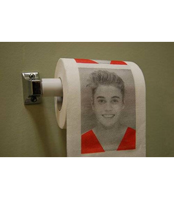 Justin Bieber Toilet Paper by Premier Products Exchange Funny Gag Music Artist Prank