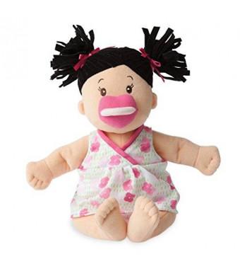 Manhattan Toy Baby Stella Brunette Soft Nurturing First Baby Doll (new for 2015!)