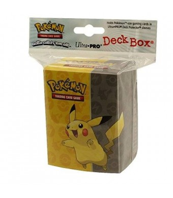 Ultra Pro Pikachu Full View Deck Box
