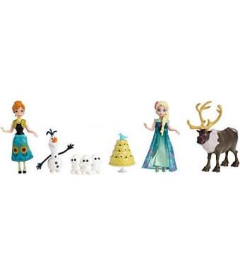 Mattel Disney Frozen Fever Birthday Party Small Doll Set