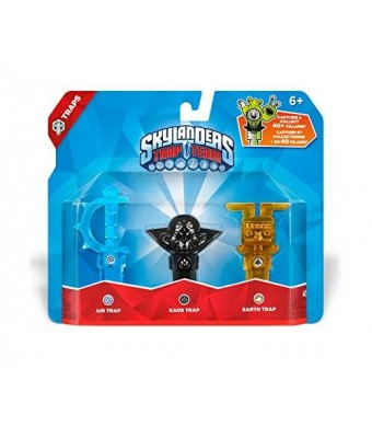 Activision Skylanders Trap Team: Triple Trap Pack: Air, Kaos, Earth