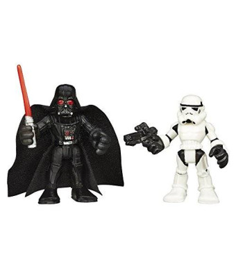 Playskool Heroes Star Wars Galactic Heroes Darth Vader and Stormtrooper