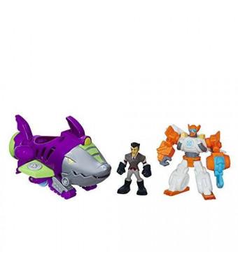 Playskool Heroes Transformers Rescue Bots Shark Sub Capture Set