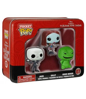 FunKo Pocket POP: NBC Tin - Jack, Sally, Oogie Toy Figure (Pack of 3)
