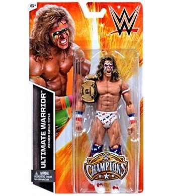 Mattel WWE Wrestling Champions Ultimate Warrior Exclusive Action Figure [Winged Eagle Title]