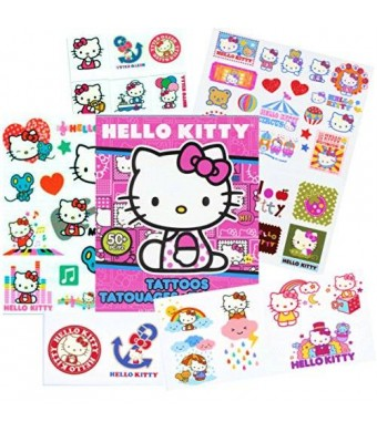 Sanrio 50 Temporary Tattoos, Hello Kitty