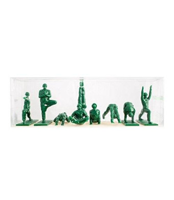 Brogamats Yoga Joes - Green Army Men Toys