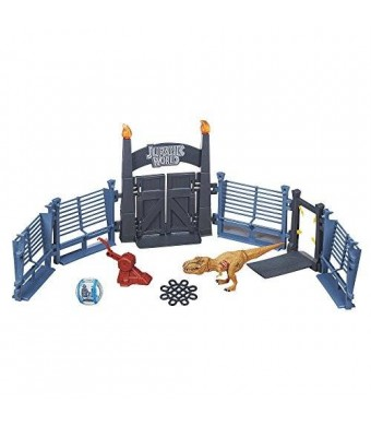 Jurassic Park Jurassic World Tyrannosaurus Lockdown Playset