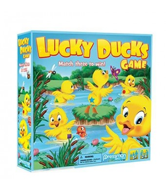 Pressman Toy Lucky Ducks -- The Memory and Matching Game that Moves