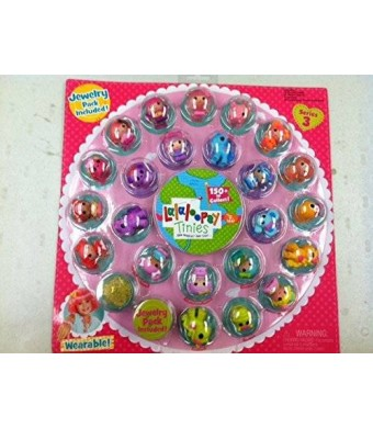Lalaloopsy Tinies Series 3 Jewelry Included 23 Dolls
