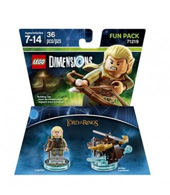 Warner Home Video - Games Lord Of The Rings Legolas Fun Pack - LEGO Dimensions