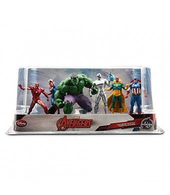 Disney Marvel Avengers 2 - 6 Piece Figure Play Set with Ultron