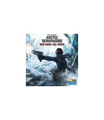 Rio Grande Games Arctic Scavengers with Recon Expansion Board Game