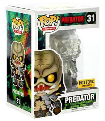Funko Pop Movies Predator Clear Green Blood Splatter Hot Topic Exclusive #31 Vinyl Figure