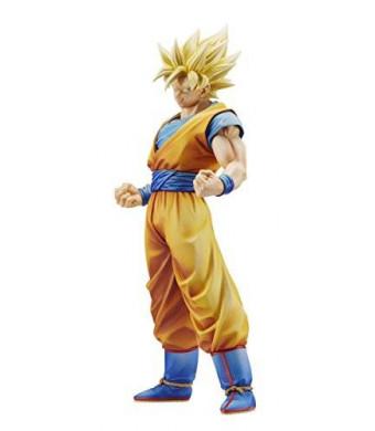 Banpresto Dragon Ball Z 9.8-Inch The Son Goku Master Stars Piece Figure, New Paint Version