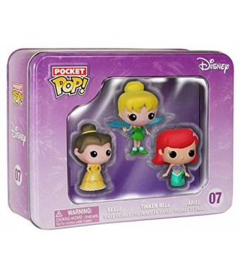 FunKo Pocket POP: Disney Tin - Princesses Toy Figure (3-Piece)