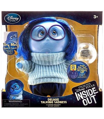INsideOUT Disney / Pixar Inside Out Sadness Talking Action Figure