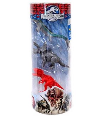 Hasbro Jurassic World Dinos Mosasaurus, Triceratops and Tyrannosaurus Rex 3 Mini Figure 3-Pack