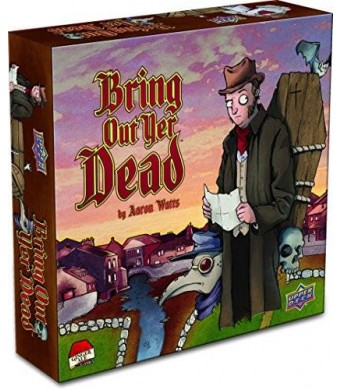 Upper Deck Bring Out Yer Dead Board Game