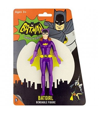 DC Comics 1966 Batman TV Series, Batgirl, Bendable, Poseable Figure