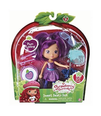 The Bridge Direct, Strawberry Shortcake, Sweet Beats, Plum Pudding Doll, 6 Inches