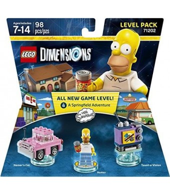 Warner Home Video - Games Simpsons Level Pack - LEGO Dimensions