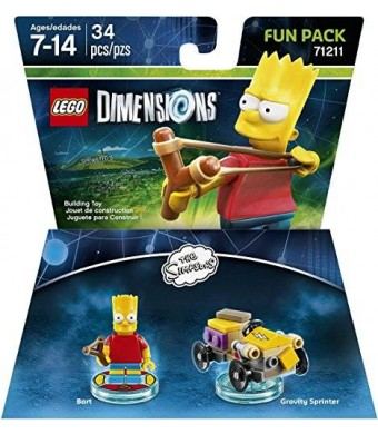 Warner Home Video - Games LEGO Dimensions, Simpsons Bart Fun Pack