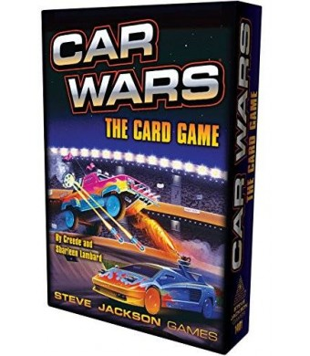 Steve Jackson Games Car Wars Card Game